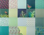 Papierblok 'Jungle' (30,5 x 30,5 cm) 40 vel