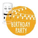NIO stempelmotief - Birthday Party